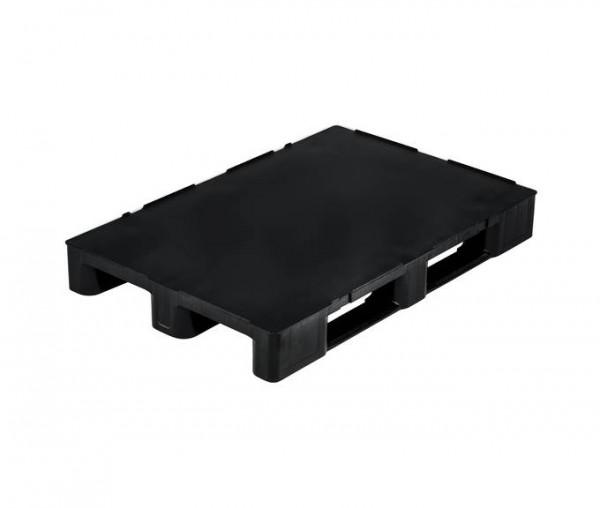 Kunststoffpalette 1200x800 mm | Europalette | Antirutschkante