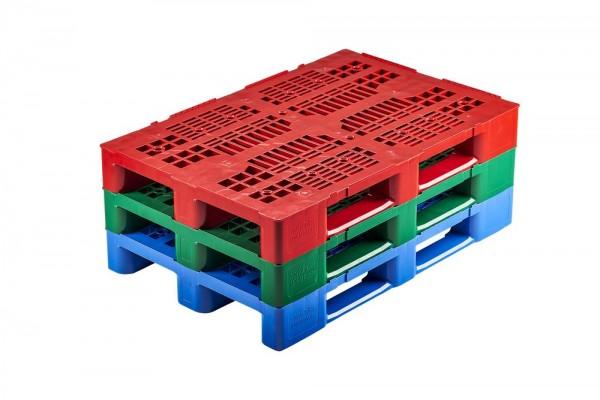 Kunststoffpalette 1200x800 mm | Europalette | farbig