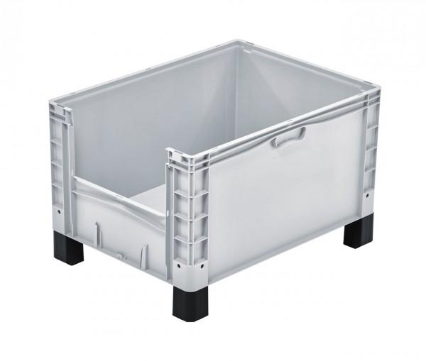 Eurobox | 800x600x520 mm | Entnahmeöffnung