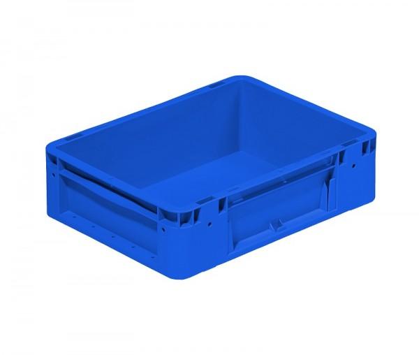Eurobox | 400x300x120 mm | geschlossen | blau
