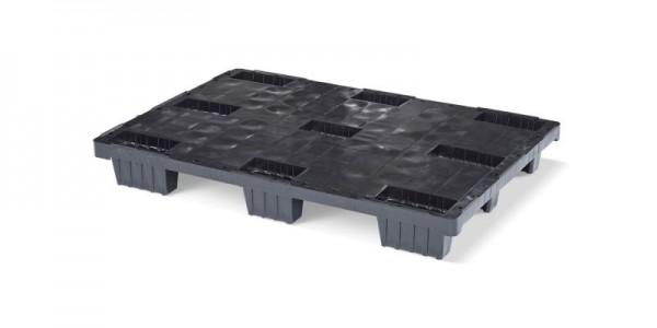 Kunststoffpalette 1200x800 mm | Europalette | 9 Füße