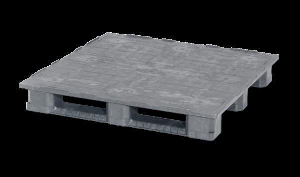 Kunststoffpalette 1200x1200mm | Industriepalette