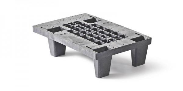 Kunststoffpalette | Art.-Nr. 191 | Viertelpalette
