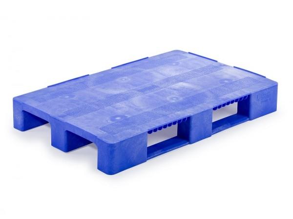 blaue-Kunststoffpalette