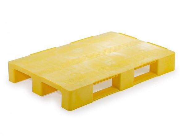 Kunststoffpalette 1200x800 mm | Europalette | gelb