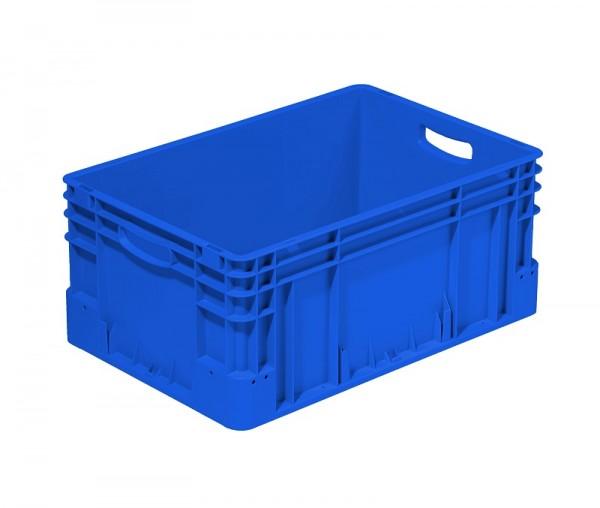 Eurobox | 600x400x270 mm | offen | blau
